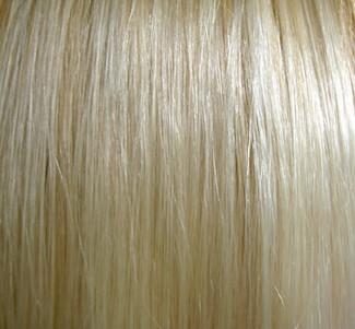 Lange blonde glatte Haare